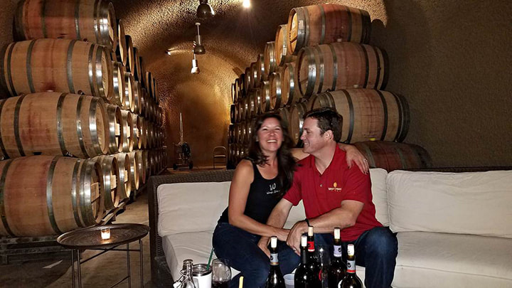 Waugh Family Wines being interviewed on the CoupleCo podcast for couple entrepreneurs